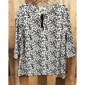 Cute leopard 3/4 sleeve stop!